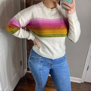 Urban Outfitters striped sweater XS